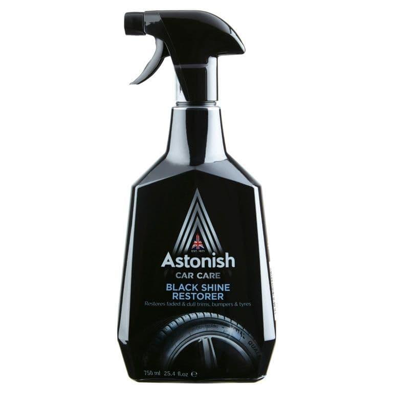Astonish Black Shine Restorer - 750ml